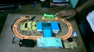 VELTECH ECE FINAL YEAR PROJECT------TEMPORARY ROBOTIC PLATFORM FOR TRACK CROSSING.