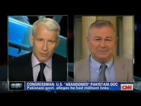 Rep. Dana Rohrabacher on Anderson Cooper on CNN discussing Dr. Afridi's imprisonment in Pakistan