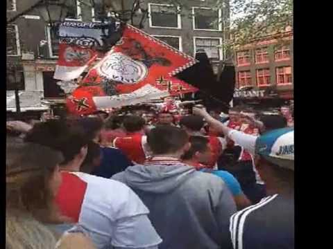 Ajax Kampioen Leidseplein Huldiging Gekkehuis 5 Mei 2013