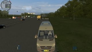 City Car Driving 1.4.1 Mercedes-Benz Sprinter 313 CDİ