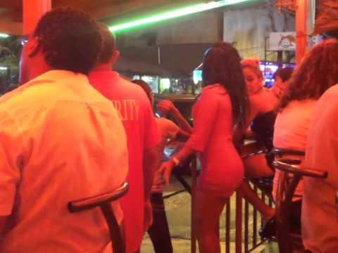 Dominican Republic Sosua 7/11/13 Winner's Circle WARNING BAD CHICA ALERT! SEXY Dominican Twerking!