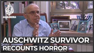 Auschwitz survivor recounts horror 75 years after liberation