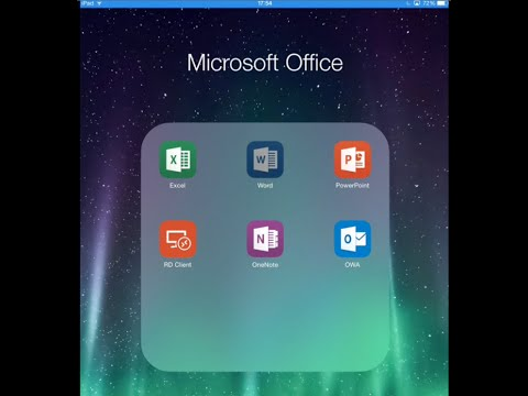 Create and do Basic editing for FREE on MS Office for iOS