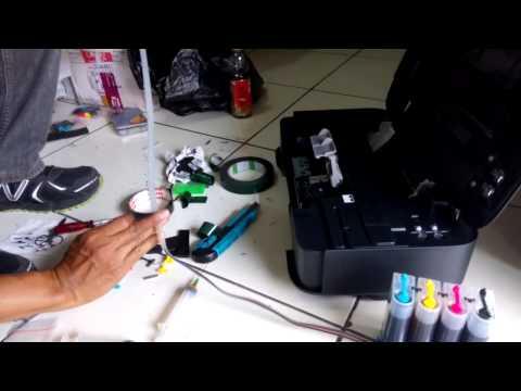 Cara Memasang Infus Pada Printer Canon iP2770