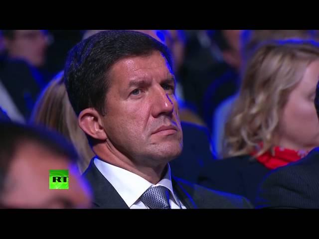 Владимир Путин на форуме ВТБ Россия зовет!