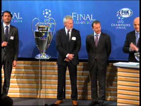UEFA Champions League 2013-2014: Sorteo de Semifinales