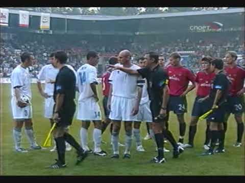 Драка во время матча Сатурн - ЦСКА. 29 августа 2004 года