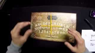 GUY PLAYS CHARLIE CHARLIE ON A OUIJA BOARD!