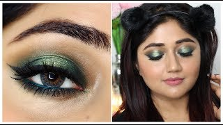 Smokey Green Halo Eyes | Anastasia Subculture palette