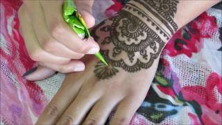 tribal inspired henna tutorial