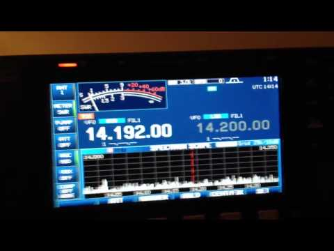 First DX Contact on new radio