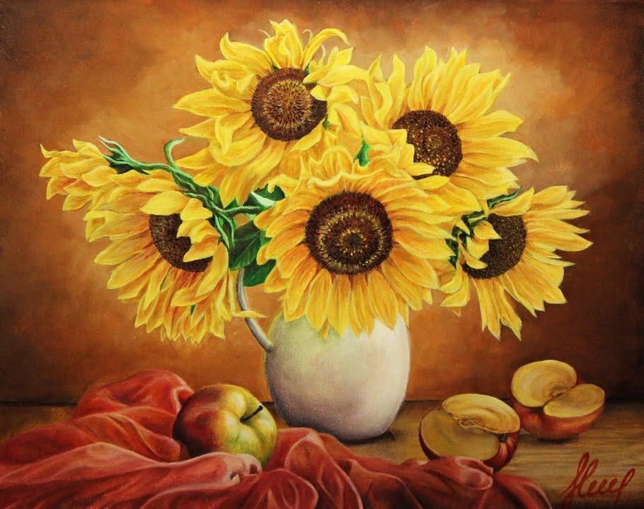 Рисуем цветы пошагово с фото