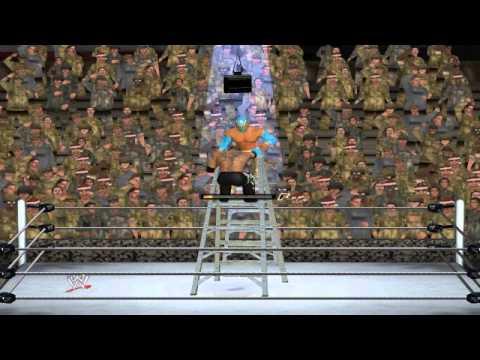 DIMA WWE №8 Бой за сундук Син Кара-Рей Мистерио WWE 12