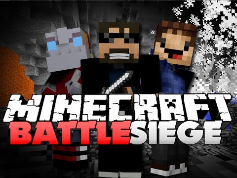 Minecraft EPIC Battle Siege - BEST BASE EVER (w/ Nooch, Woofless, and Friends)