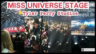Miss Universe 2019 Stage REVEALED | Rehearsals at Tyler Perry Studios