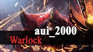 Dota 2: Aui_2000 Warlock with Blink Dagger Gameplay
