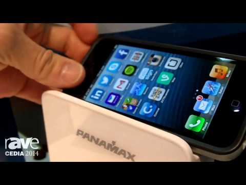 CEDIA 2014: Panamax Illustrates Its New Power360 Power Protection and Charging Station