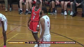 High School Boys Basketball: Cathedral Prep vs Meadville (Jan 22, 2019)