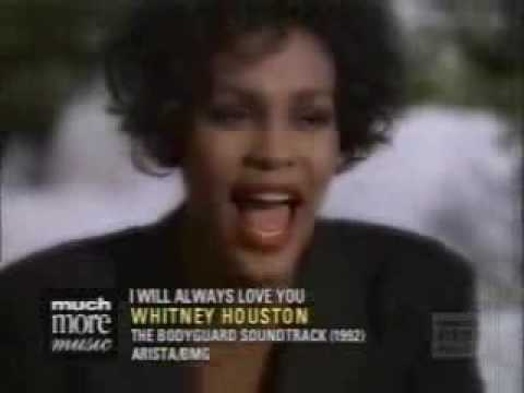 I Will Always Love You Whitney Houston Video The Bodyguard ...