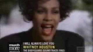 Bodyguard - I Will Always Love You Whitney Houston Video The Bodyguard
