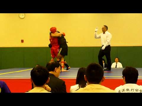 SanShou 65KG TKD (Black) vs Boxing (Red)- Art of the red army Image 1