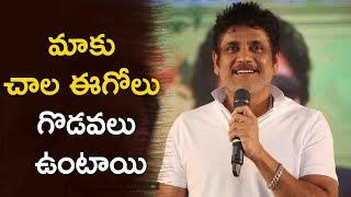 Akkineni Nagarjuna Speech @ Devadas Movie Success Meet | Nagarjuna | Nani | Rashmika Mandanna