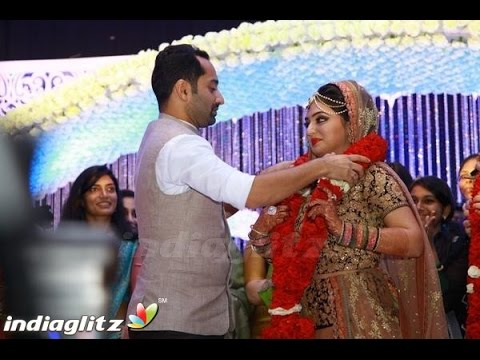Nazriya and Fahad Fazil Marriage Video | Wedding Reception Full | Nikkah