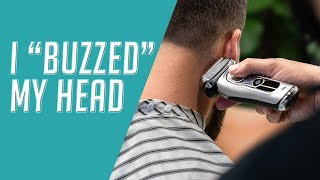 """How to Cut and Style a """"Buzz Cut"""" 