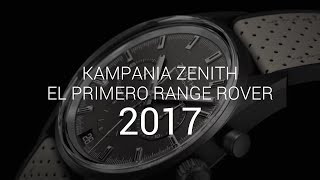 Zenith El Primero Range Rover Velar