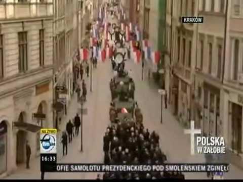 Kaczynski Funeral in Krakow - Part  2
