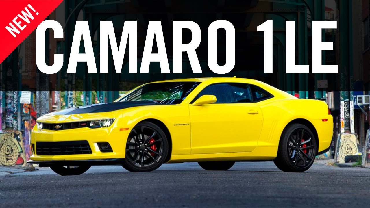 2015 Chevrolet Camaro 1le Review Youtube