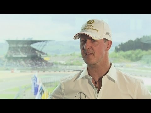 Michael Schumacher talks F1 and Champions League Final