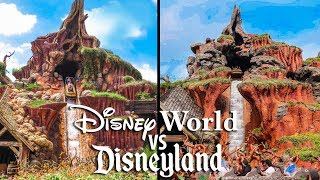 Top Disney World Rides vs Disneyland Rides!