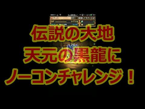 【パズドラ】伝説の大地にベジットでノーコンに挑む!