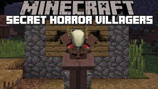 Minecraft SECRET HORROR VILLAGER MOD / FIND THE HIDDEN VILLAGERS AND SURVIVE !! Minecraft