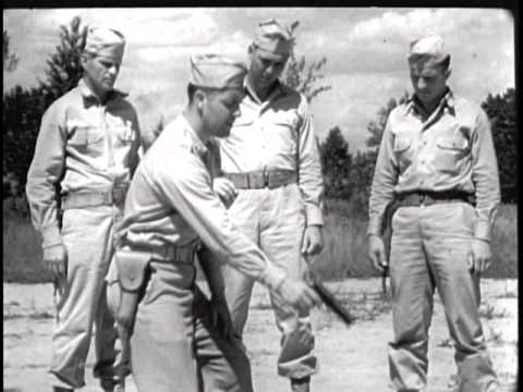 Combat Firing with Hand Guns (1944)