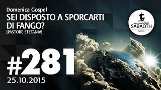 Domenica Gospel @ Milano - Sei disposto a sporcarti di fango? - Pastore Stefania | 25.10.2015