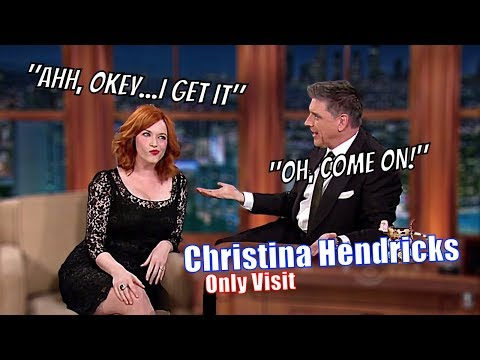 Christina Hendricks - Craig Comments On Her Cheastly Area - Her Only Appearance [1080p]