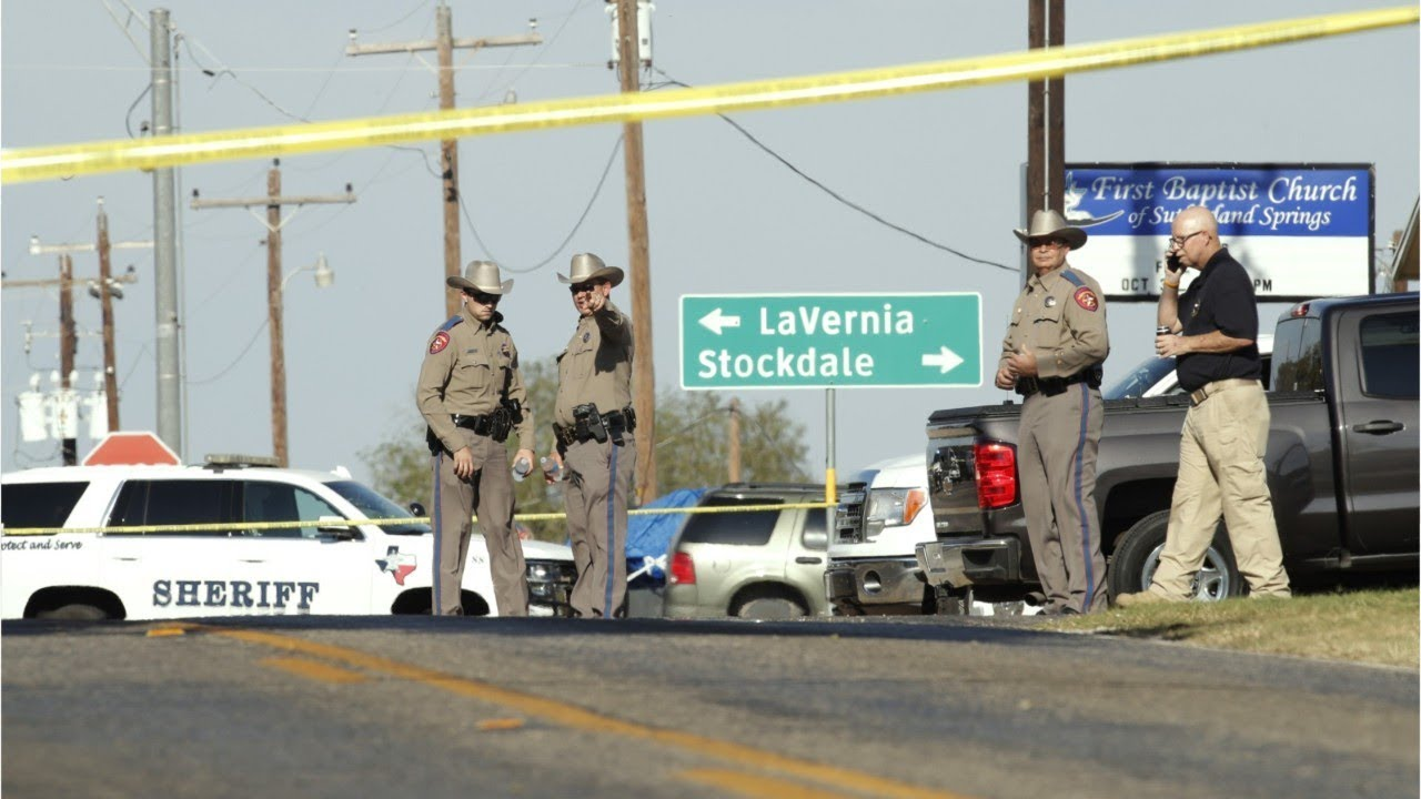 Gunman Kills 26 People During Texas Church Service