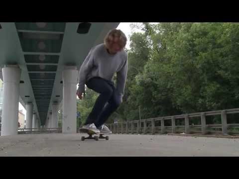 Видео как научиться кататься на скейтборде