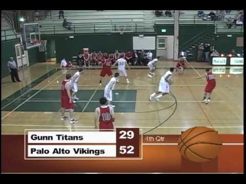 High School Sports: Paly vs. Gunn Boys Basketball