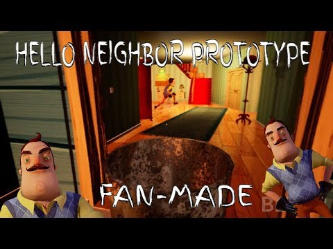 HELLO NEIGHBOR PROTOTYPE BUILD!? no..just fan made (HN fan-made Prototype) thumbnail