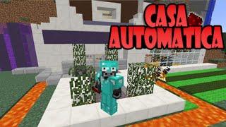Minecraft Casa Automatica De Redstonecanarias Viyoutube