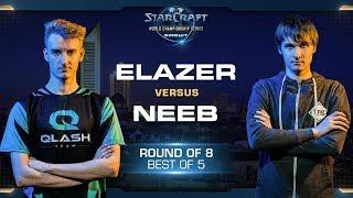 Elazer vs Neeb ZvP - RO8 - WCS Leipzig 2018 - StarCraft II