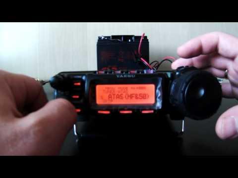 Yaesu FT-857D и антенна ATAS-120