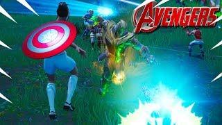 *NEW* AVENGERS ENDGAME GAMEPLAY In Fortnite! Funny Moments