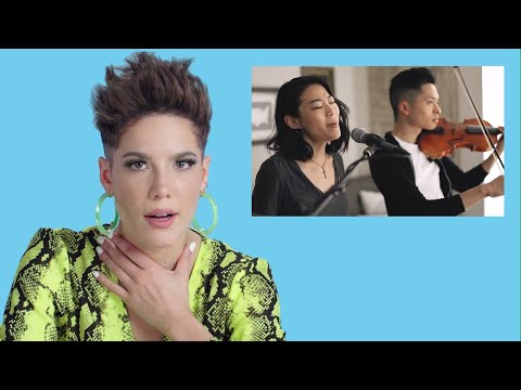 Halsey Watches Fan Covers on YouTube | Glamour MP3