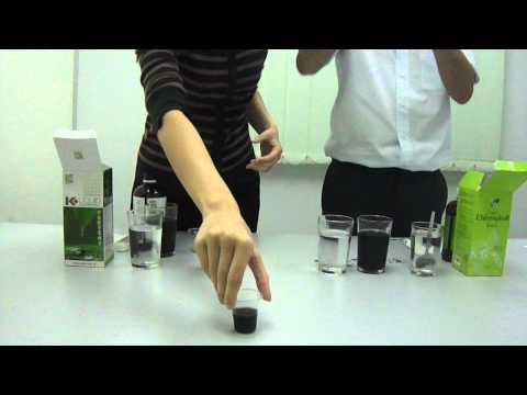 DEMO - Cosway Nn Liquid Chlorophyll is more concentrated.MP4