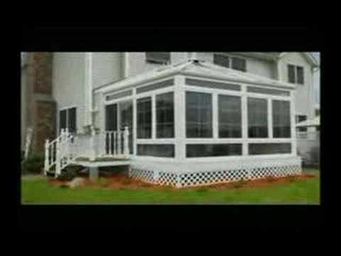Four seasons sunrooms youtube for How to build a four season room