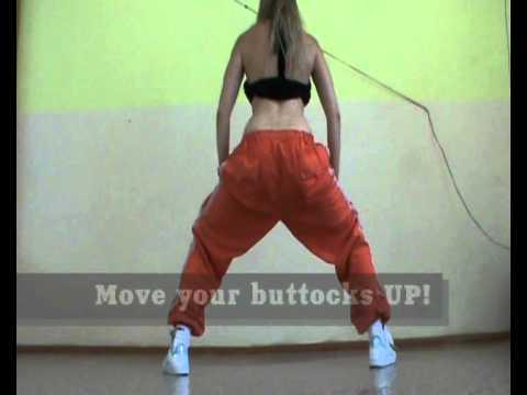Уроки booty dance - видео